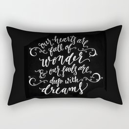 Wonder and Dreams Rectangular Pillow