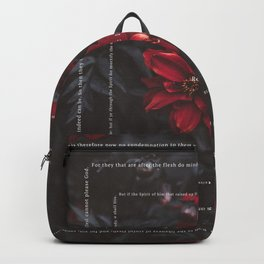 Romans 8:1-13 Backpack
