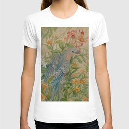 Bluebirds in Spring Thicket T-shirt