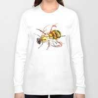 bee and puppycat Long Sleeve T-shirts featuring Bee by Lauren Thawley