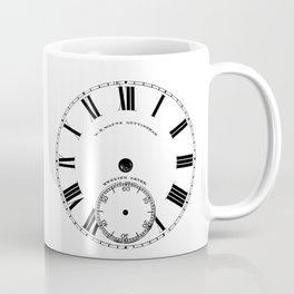Time goes by vintage clock Coffee Mug