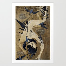 The Rime Of The Ancient Mariner Art Print