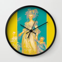 MARIE soft stripes edition Wall Clock