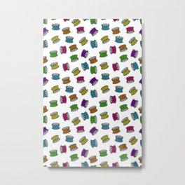 colorful bobbins Metal Print