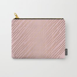 Blush Gold Portrait Carry-All Pouch