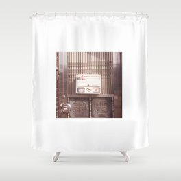 Silver Gate Shower Curtain