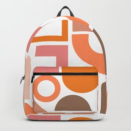 Shapes in Retro Hues Backpack