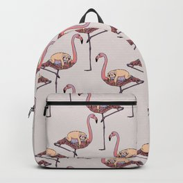 Flamingo and Sloth Backpack