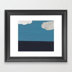 Oh, Weather Framed Art Print