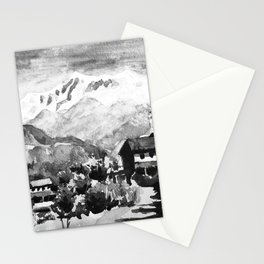 Himalayan Village Nepal Stationery Cards