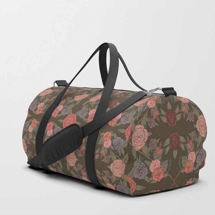 DIAMOND FLORAL Duffle Bag