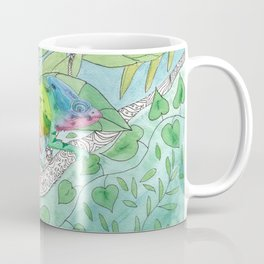 Trying to Fit in Coffee Mug