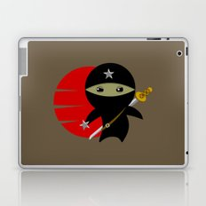 Ninja Star - Dark version Laptop & iPad Skin