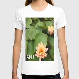 a Pond Flower T-shirt