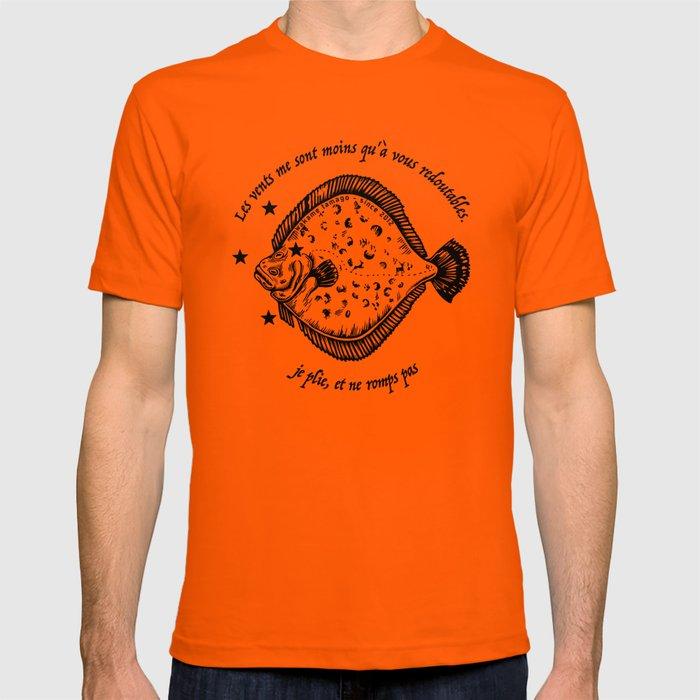 je plie et ne romps pas, dit la plie T-shirt