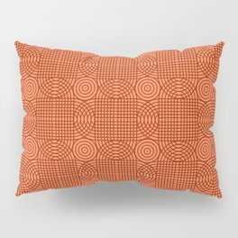 Op Art 18 - Coral Pillow Sham