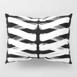 Zigzag white Pillow Sham