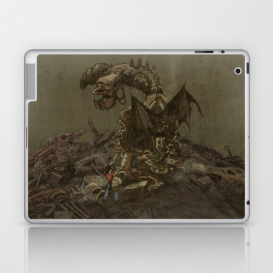 Junkyard Dragon  Laptop & iPad Skin