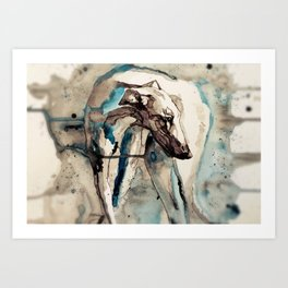 Out of the Dust Art Print