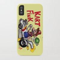 mario kart iPhone & iPod Cases featuring Kart Fink Big Bro! by Avedon Arcade