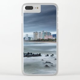 Morning Skyline Nha Trang Vietnam Clear iPhone Case