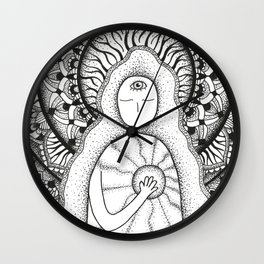The Light Inside Wall Clock