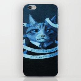 Cat Power iPhone Skin