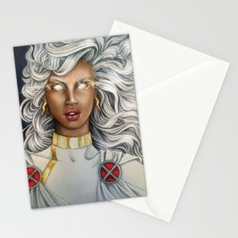 White Haired Hero Stationery Cards
