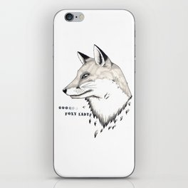 Foxy Lady iPhone Skin