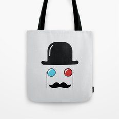 3d monocle Tote Bag