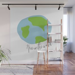 Here is the World Wall Mural