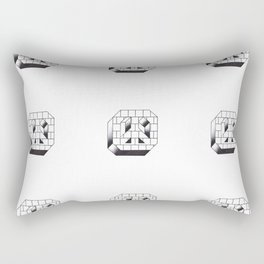 peace on the streets Rectangular Pillow