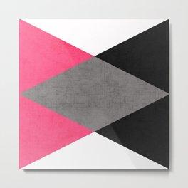 cosmopolitan triangles Metal Print