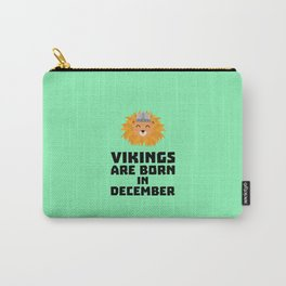 Vikings are born in December T-Shirt D0oki Carry-All Pouch