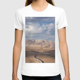 Road from Jerusalem to Jericho T-shirt