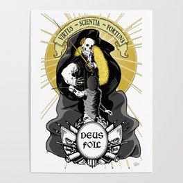 Deus Foil Poster