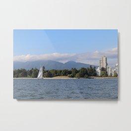City by Sea Metal Print