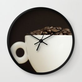 Bean to Cup? Wall Clock