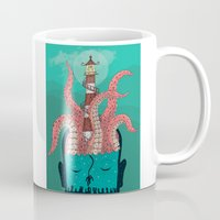 sleep Mugs featuring Sleep by Arron Croasdell