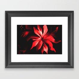 RED HOT BABY!! Framed Art Print