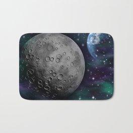 Moon and the Sky Bath Mat