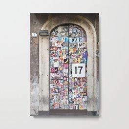 Piazza Duca di Genova 17 in Catania - Sicily Metal Print