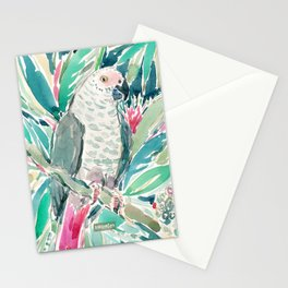 CONGO the African Grey Parrot Stationery Cards