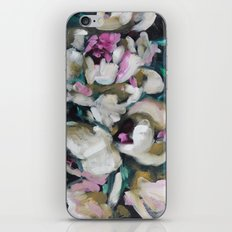 Blurred Vision Series - Blush Peonies No. 1 iPhone & iPod Skin