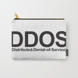 DDoS (Distributed-Denial-of-Service) Carry-All Pouch