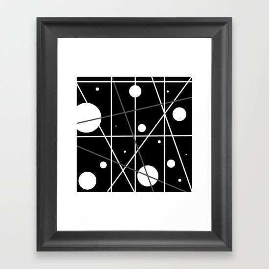 The Final Frontier Framed Art Print