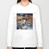 polaroid Long Sleeve T-shirts featuring polaroid by instantbrighton