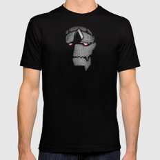 Big Metal Black MEDIUM Mens Fitted Tee