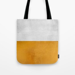Wabi Sabi - Gold and Grey Texture Tote Bag