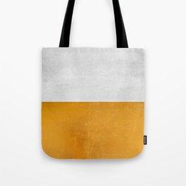 Wabi Sabi - Gold and Grey Texture Tote Bag